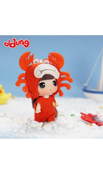 冬己婴童玩具ddung冬己迷糊娃娃玩具十二星座换装娃娃女孩