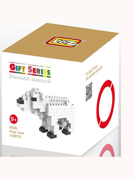 振丰婴童玩具积木北极熊