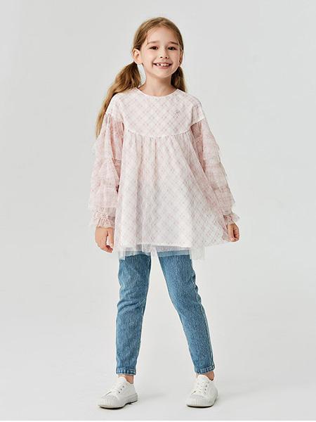 蜜糖宝贝 Mittit Baby童装品牌2020秋冬白色时尚连衣裙