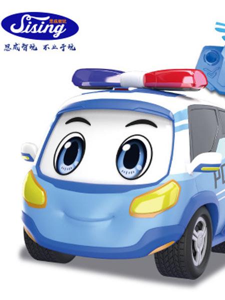 思成智能婴童玩具思成智玩警车联盟新款宝宝电动车带遥控儿童男孩玩具车厂家直销