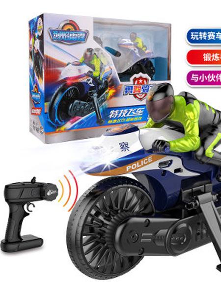 思成智能婴童玩具思成智玩新品烈焰雷霆第二代遥控摩托车玩具充电漂移特技竞速赛车
