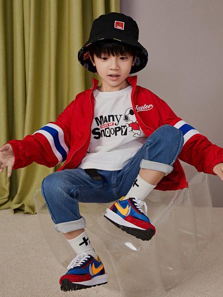 gxg.kids童装品牌2020秋冬红色条纹外套