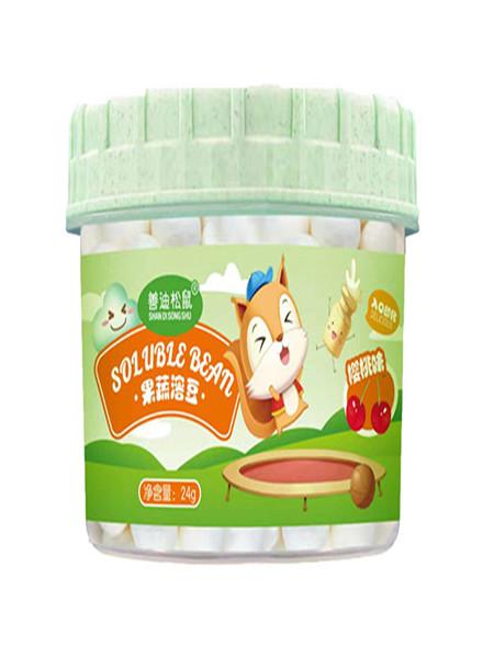 善迪松鼠婴儿食品樱桃味溶豆