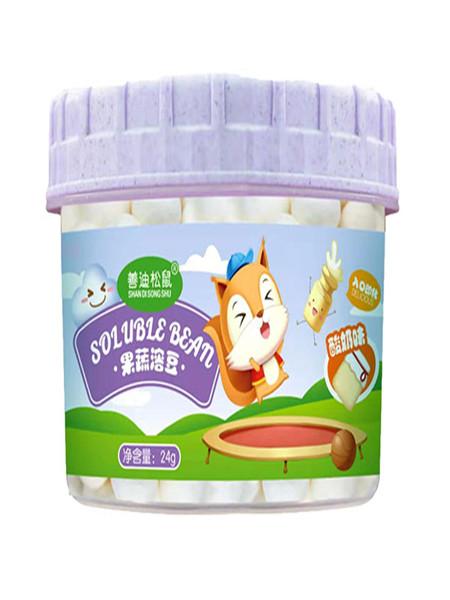 善迪松鼠婴儿食品酸奶溶豆