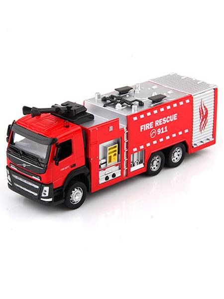彩珀玩具婴童玩具沃尔沃水枪消防车