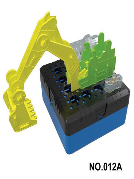 嘉会峰玩具婴童玩具DIY挖掘机
