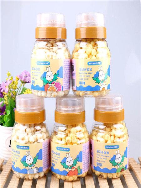优贝兔婴儿食品低糖小奶豆