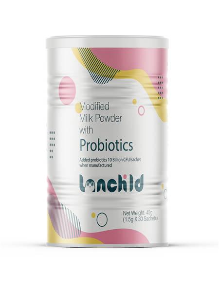 蓝企儿婴儿食品益生菌调制乳粉