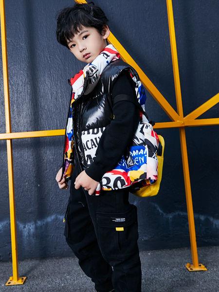 淘气贝贝童装品牌2020秋冬日系酷潮羽绒服