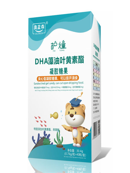 中舜雅康��菏称�DHA藻油�A心型糖果