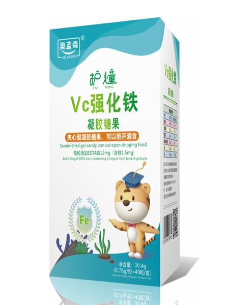 中舜雅康婴儿食品VC强化铁夹心型糖果