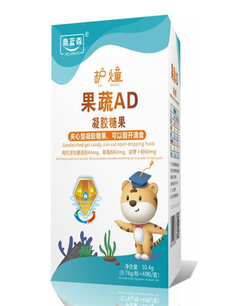中舜雅康婴儿食品果蔬AD夹心型糖果