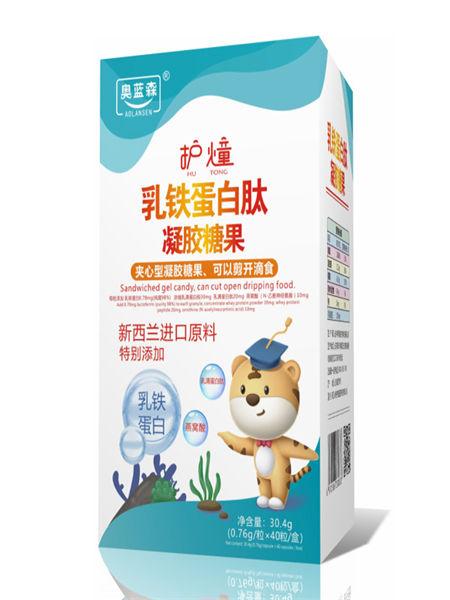 中舜雅康婴儿食品乳贴蛋白肽夹心型糖果