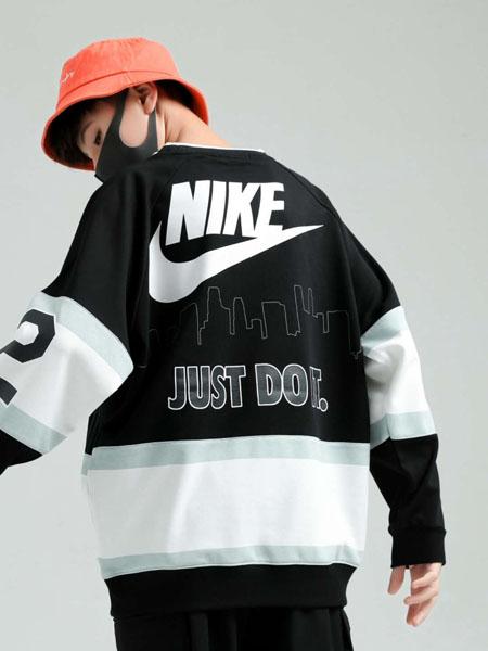 石头剪子布童装品牌2020秋冬黑色运动外套
