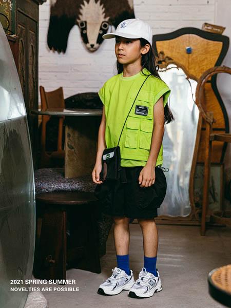 COOPER STAR童装品牌2021春夏青色休闲T恤