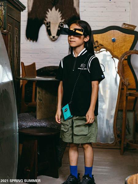 COOPER STAR童装品牌2021春夏黑色条纹上衣