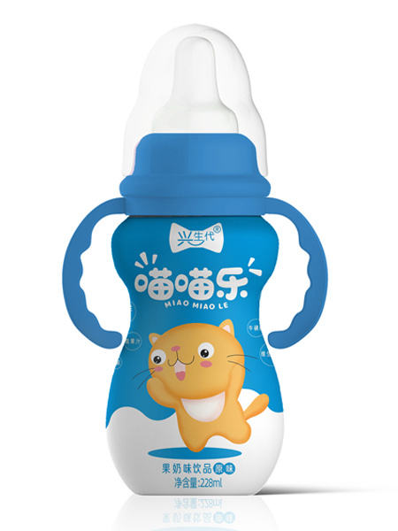 铭全食品婴儿食品喵喵乐果奶蓝色饮品