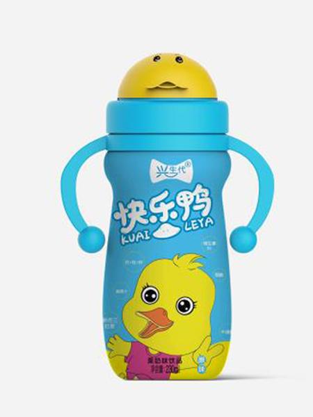 铭全食品婴儿食品快乐鸭果奶味蓝色饮品