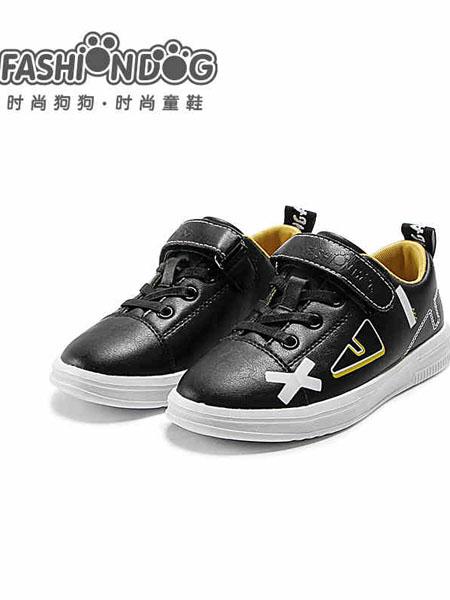 哈�多童鞋品牌2020秋冬黑白板鞋