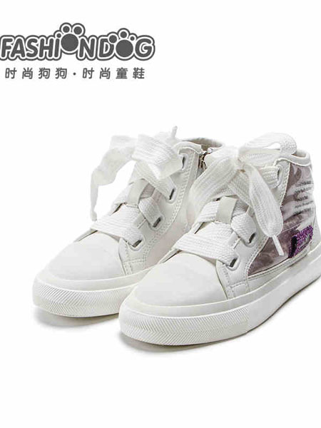 哈贝多童鞋品牌2020秋冬个性小白鞋