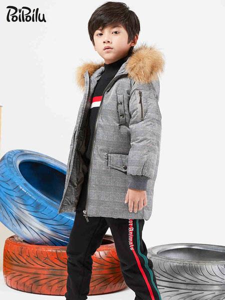 poipoilu(泡泡噜)童装品牌2020秋冬灰色个性外套