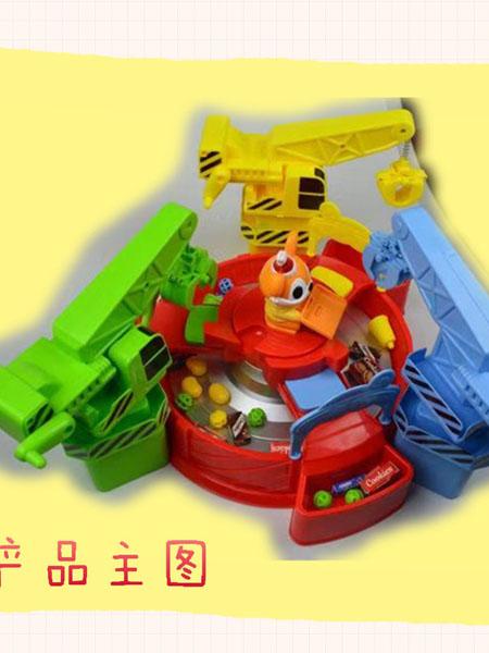 京森婴童玩具三合一益智抓物机