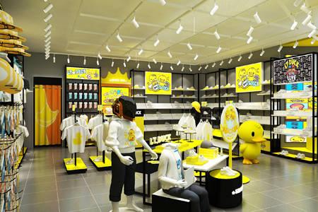 小黄鸭青少年店铺展示