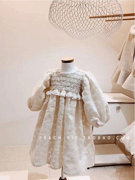 超尚童�b品牌2020秋冬��蓬松短袖�B衣裙