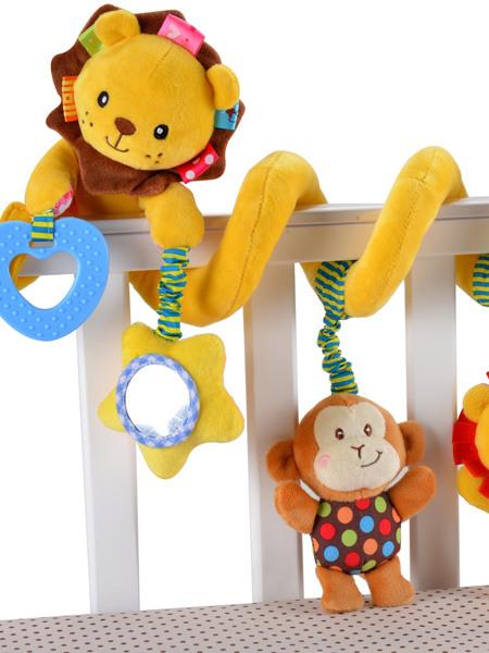 Jollybaby婴童玩具狮子床挂