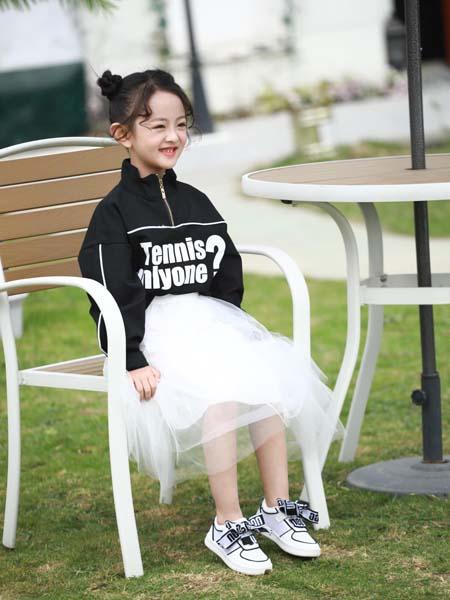 崽崽屋童鞋品牌2020秋冬字母创意小白鞋