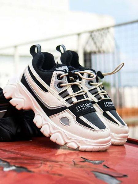 吉象路童鞋品牌2020秋冬黑白�\�有�