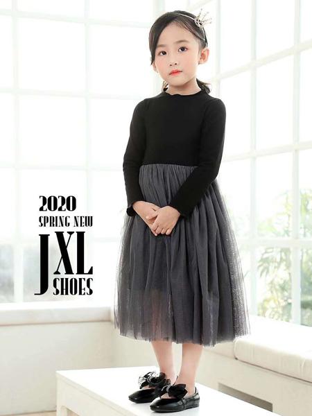 吉象路童鞋品牌2020秋冬黑色童鞋