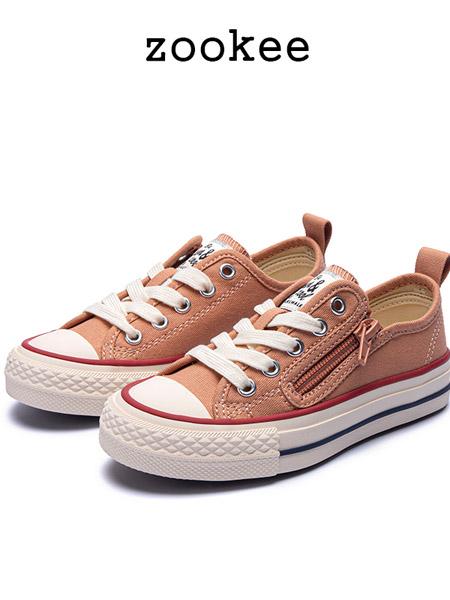 ZOOKEE童鞋品牌2020秋冬学生帆布鞋