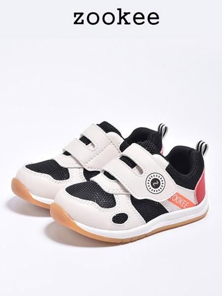 ZOOKEE童鞋品牌2020秋冬透气白色老爹运动鞋
