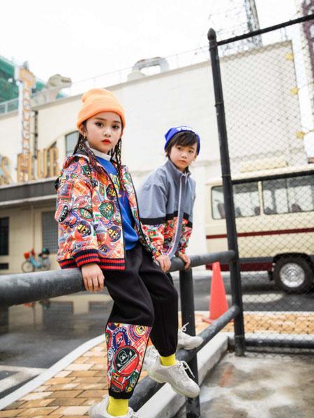 恒星童装品牌2020秋冬潮流嘻哈套装