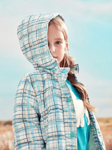 蒙蒙摩米 Mes amis童装品牌2020冬季格子纹外套