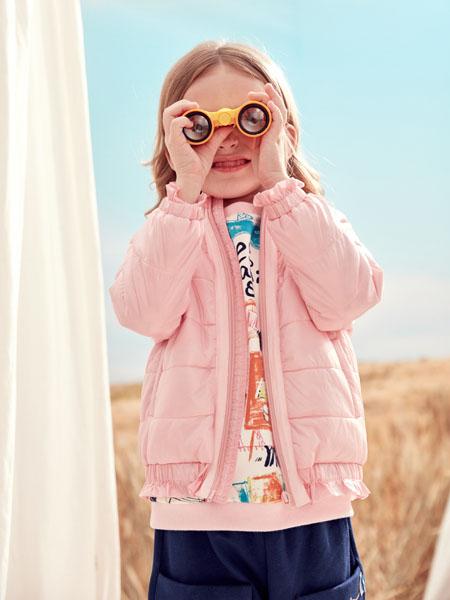 蒙蒙摩米 Mes amis童装品牌2020冬季粉色短款外套