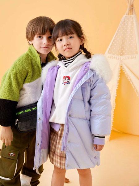贝甜童装品牌2020秋冬加绒加棉外套