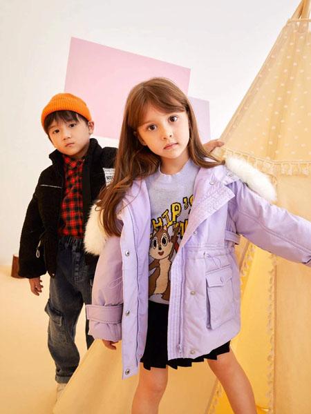 贝甜童装品牌2020秋冬大口袋加绒外套