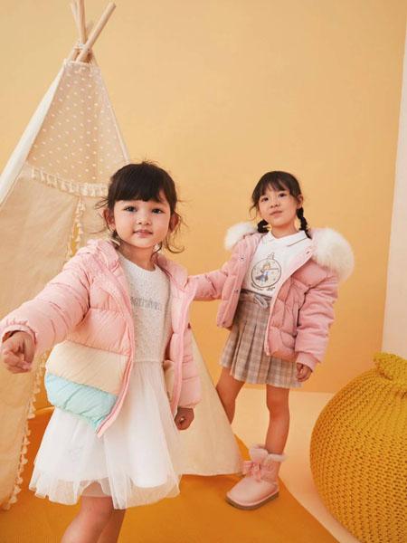 贝甜童装品牌2020秋冬粉色棉衣童装