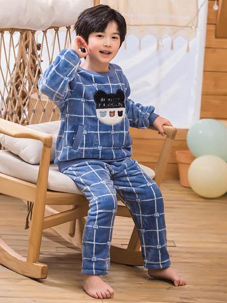 开心萝卜童装品牌2020冬季居家服