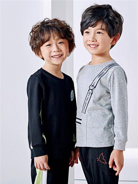 嗒嘀嗒童装品牌2020秋冬棉毛衫