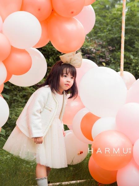 哈沐童装品牌2020秋冬白色公主纱裙