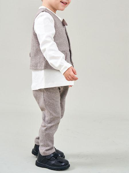 芙瑞可童鞋品牌2020秋冬黑色男童大头皮鞋