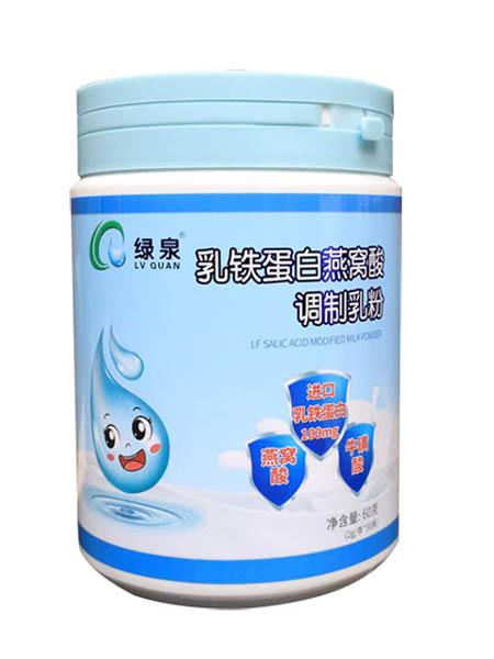 绿泉婴儿食品乳铁蛋白燕窝酸调制乳粉