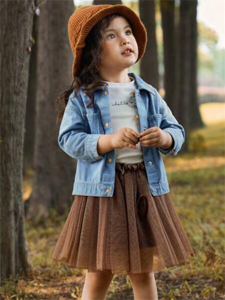 MQD童装品牌2020秋冬蓝色舒适牛仔外套