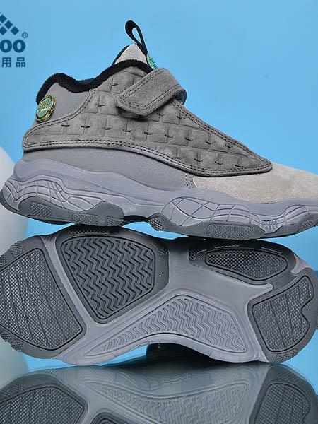 卡途童鞋品牌2020秋冬灰色时尚运动鞋