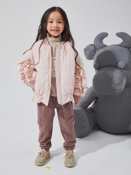 NNE&KIKI童�b品牌2020秋冬粉色�r尚薄外套也是一件很不幸