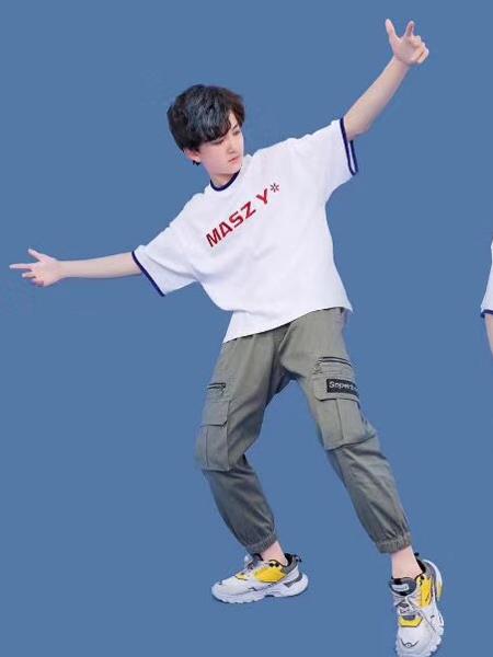 咔士尼童装品牌2021春夏街头个性短袖T恤