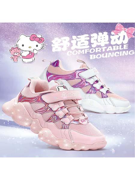 博仕屋DR.HOUSE���H童品集成店童�b品牌Hellokitty2020冬季粉色甜美可�劾系�鞋